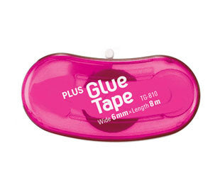 PLUS Bean Glue Tape Pink