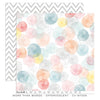 Effervescent 12x12 Pattern Paper - Cocoa Vanilla - More Than Words