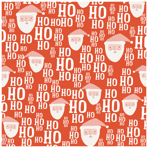 Ho Ho Ho 12x12 Pattern Paper - My Mind's Eye - Oh What Fun