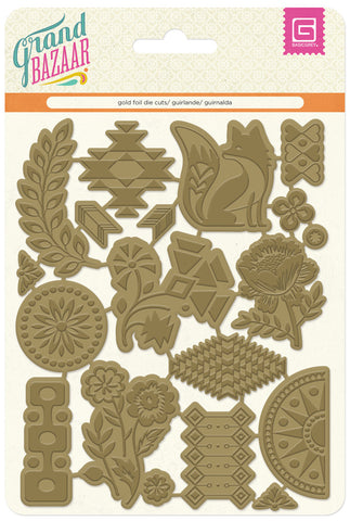 BasicGrey Grand Bazaar Gold Foil Diecuts