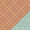 Gossamer Blue Get Happy Paper Plaid Tidings