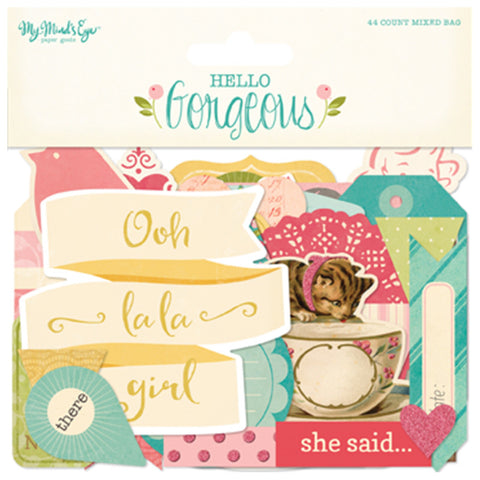 Mixed Bag Die Cuts - My Mind's Eye Hello Gorgeous