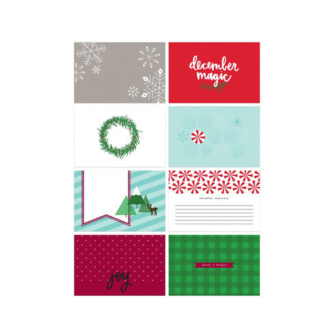 Christmas Carols Pocket Cards 4x6 - Pretty Little Studio Holly Jolly P