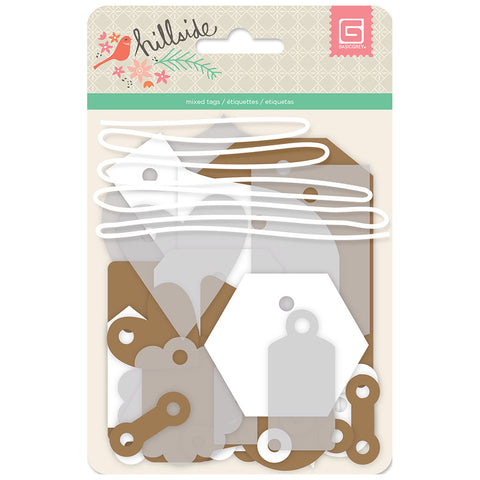 Eclectic Tag Kit - Basic Grey Hillside