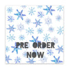 December Snow 8x8 Vellum Speciality Paper  - Pretty Little Studio - Home for Christmas