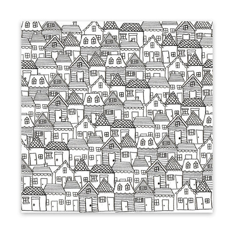 Santa's Village 8x8 Vellum Speciality Paper  - Pretty Little Studio - Home for Christmas