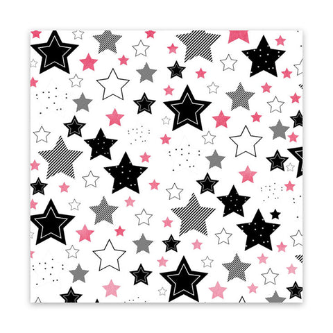 Starry Sky 8x8 Clear Speciality Paper  - Pretty Little Studio - Home for Christmas