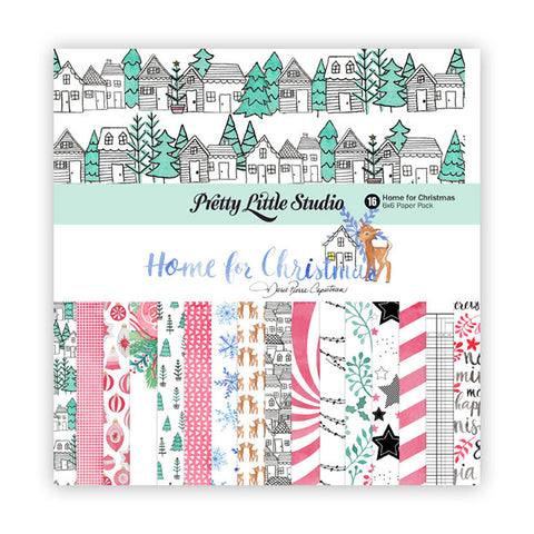 6x6 Paper Pack  - Pretty Little Studio - Home for Christmas