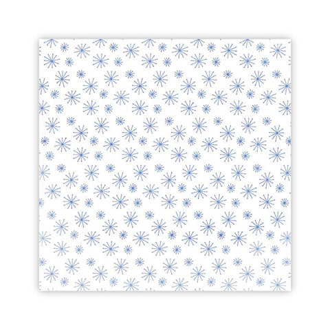 Snowflakes 8x8 Vellum Paper - Pretty Little Studio - Winter Joy