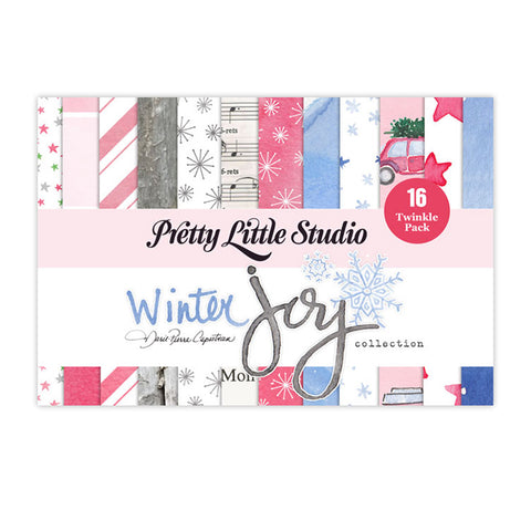 Twinkle 4x6 Paper Pack - Pretty Little Studio - Winter Joy