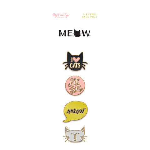 Enamel Pins - My Mind's Eye - Meow