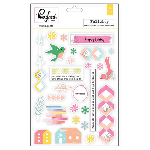 Studio Puffs Sticker - Pinkfresh Studio Felicity