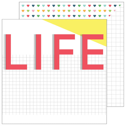 This Life 12x12 Paper - Pinkfresh Studio Life Noted