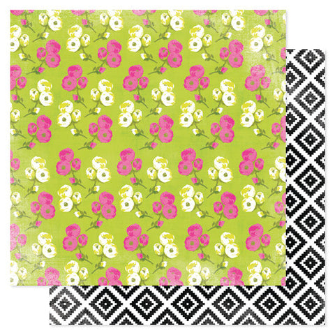 Heidi Swapp Favorite Things Paper Mixed Floral