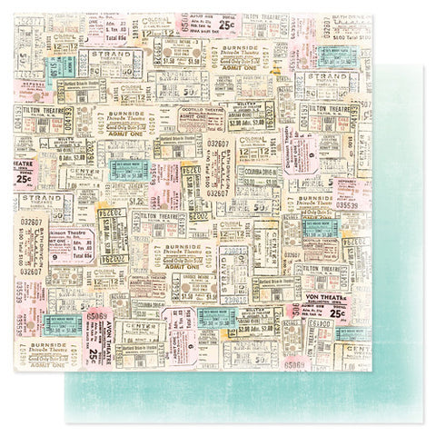 Heidi Swapp Dreamy Paper Ticket to Ride