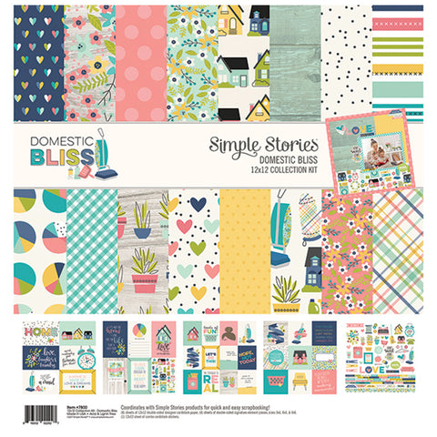 Collection Kit - Simple Stories - Domestic Bliss