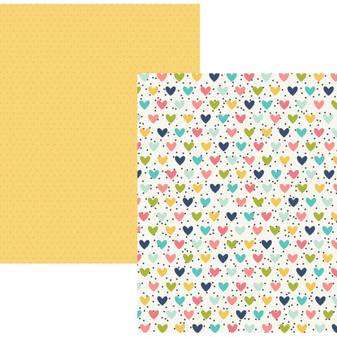 Domestic Diva 12x12 Patterned Paper - Simple Stories - Domestic Bliss