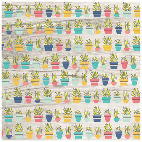 Hello Life 12x12 Patterned Paper - Simple Stories - Domestic Bliss