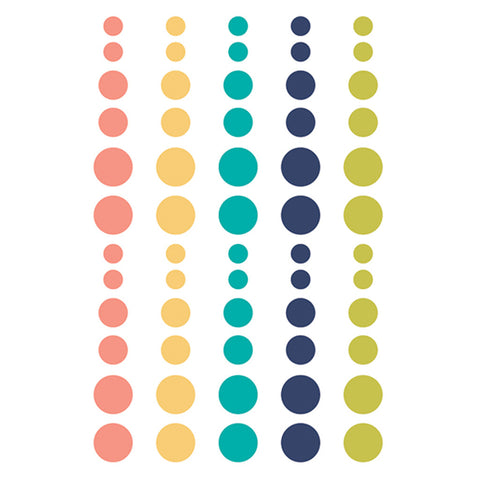 Enamel Dots - Simple Stories - Domestic Bliss