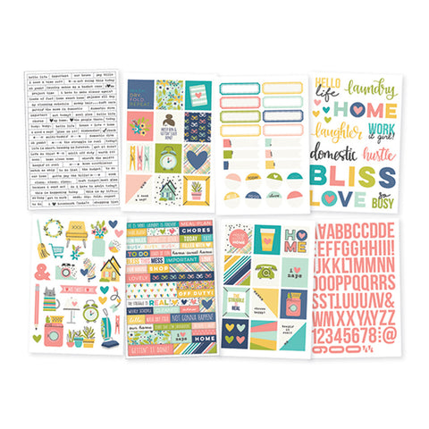 4x6 Stickers - Simple Stories - Domestic Bliss