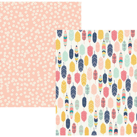 Inspire 12x12 Patterned Paper - Simple Stories