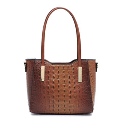 Coffee Crocodile Mini Tote Bag