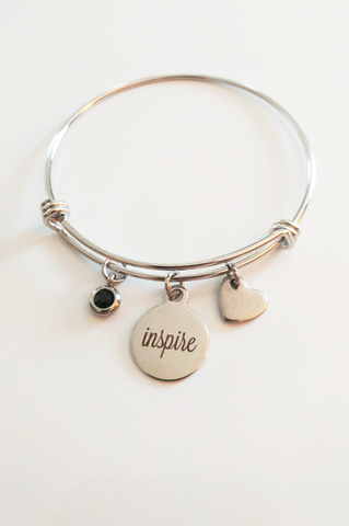 Share Your Inspiration Charm Bracelet