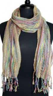 Rainbow Stripe Scarf (More Colors)