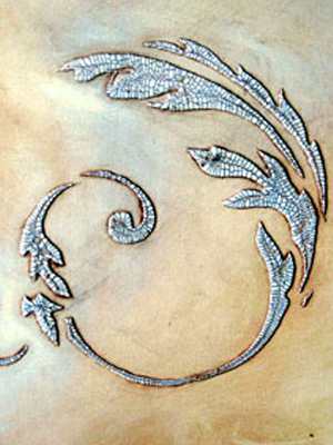 Small Acanthus Scroll