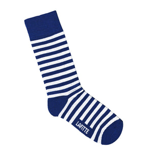 Blue and White Striped Socks | Bamboo Socks Online | LAFITTE Australia