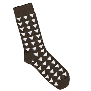 Bamboo Triangle Sock