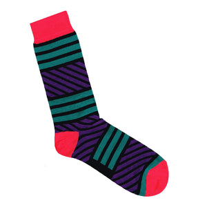 Multi-Stripe Sock