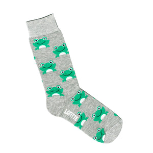Frog Socks - Grey Marle - Shop Online - LAFITTE Australia