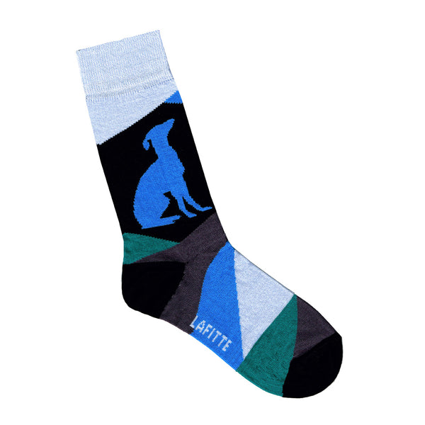 Greyhound Charity Socks - Blue | Shop Online LAFITTE Australia