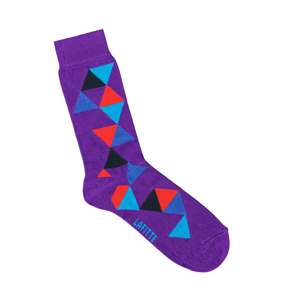 Scattered Triangle Sock