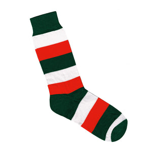 Red Green and White Striped Socks | Shop Online | LAFITTE Australia