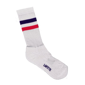 Sports Crew Socks - White Mens and Womens Crew Socks Online | LAFITTE Australia