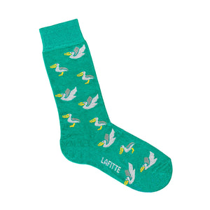 Pelican Socks - Green | Shop Online | LAFITTE Australia