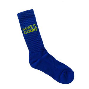 Sports Crew Sock - Make It Count