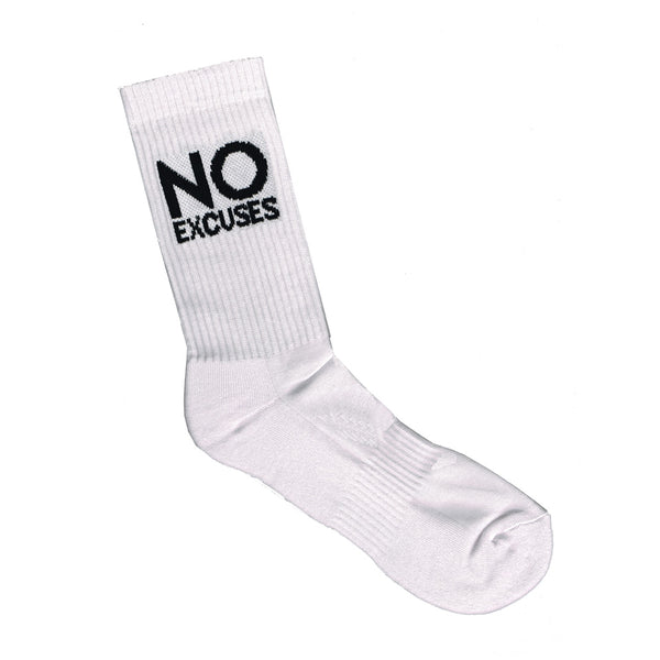 Sports Crew Sock - No Excuses