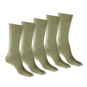 95% Cotton Soft Sock - 5 Pack