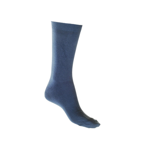 Cotton Soft Socks - Blue - Shop Online LAFITTE Australia