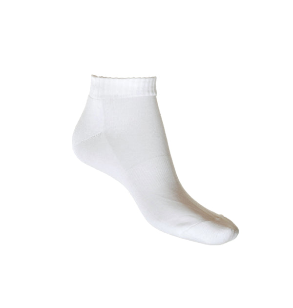 White Ankle Sports Sock, Made in Australia | LAFITTE | Shop Online