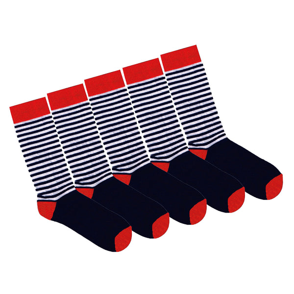95% Bamboo Stripe - 5 Pack Seconds Special