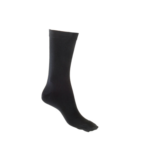 Black Bamboo Sock with Loose Top - Shop Online LAFITTE Australia