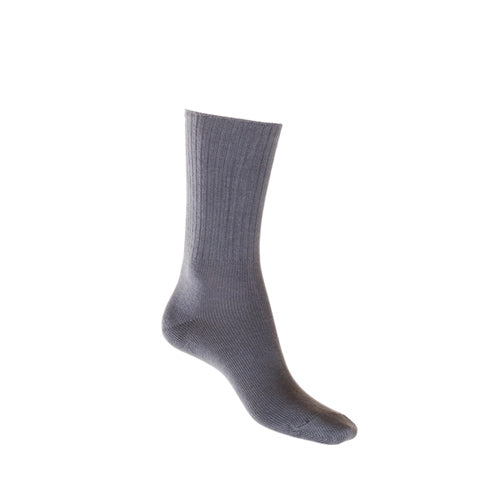 Mid-Weight Ribbed Cotton Sock