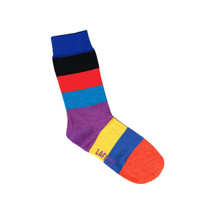 Bold Rainbow Stripe Kids Socks | Shop Online | LAFITTE Australia