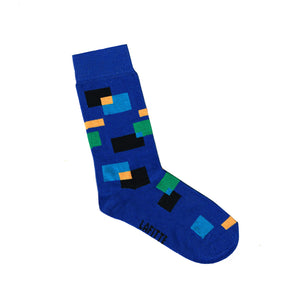 Kids Patterned Socks | Blue | Shop Online LAFITTE Australia