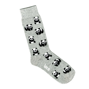 Panda Socks - Grey | Shop Online | LAFITTE Australia