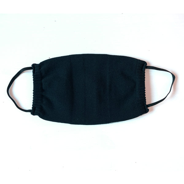 2 PACK - Reusable Face Mask - Solid Black